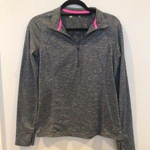 Zip up athletic jacket
